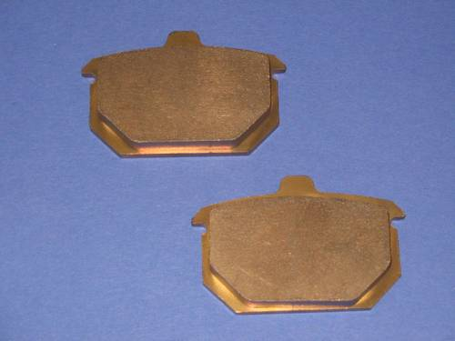 44209-82 DISC BRAKE PADS, PAIR<br/>REAR: XLH-S-X FXWG FXB-E-S-R&nbsp;SINTER METAL&nbsp;