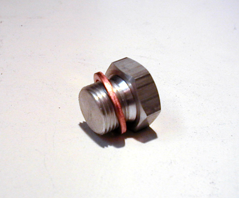 RST OIL DRAIN PLUG<br/>FOR OILTANKS # 021000 & 021020