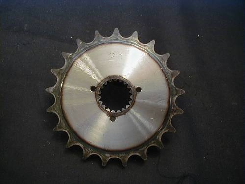 TRANSMISSION SPROCKET 21T<br/>SPORTSTER 1984-90&nbsp;&nbsp;