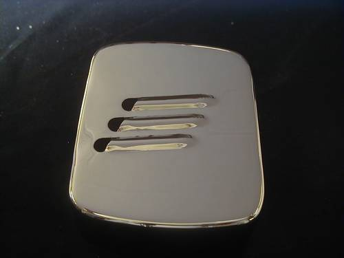 LOUVERED CHROME COIL COVER<br/>4-SPEED B.T. & SOFTAIL, ´65-UP&nbsp;&nbsp;