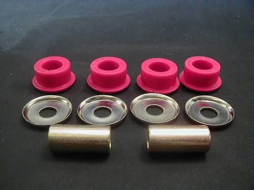 HANDLEBAR BUSHING KIT, FINE<br/>EXTRA HEAVY DUTY, FITS ALL H-D WITH OUT SCREWS