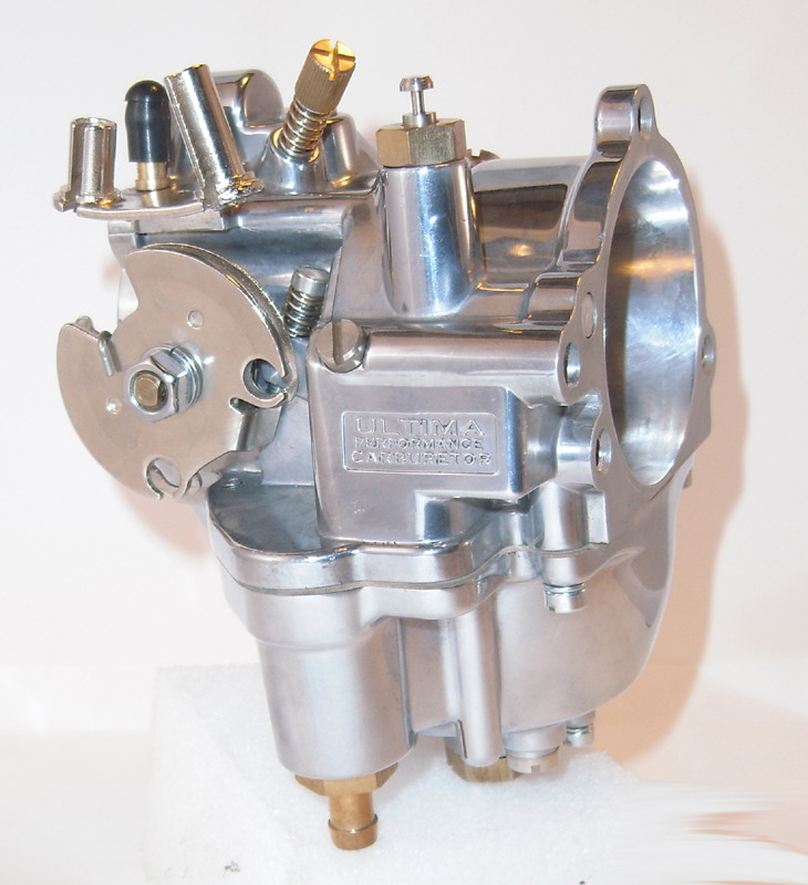 ULTIMA R1 SUPER G REPLACE CARBURETOR ONLY<br/>POLISHED&nbsp;&nbsp;