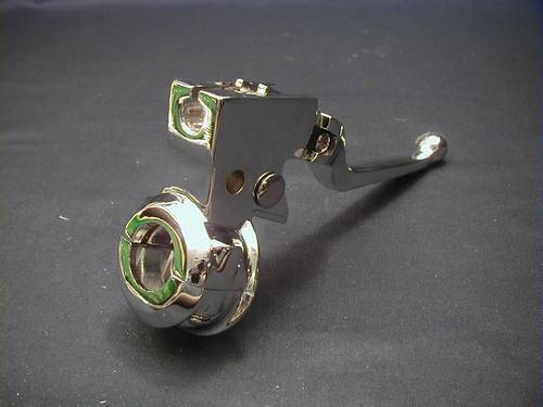 CLUTCH LEVER<br/>WITH CLAMP & HARDWARE CHROME&nbsp;&nbsp;