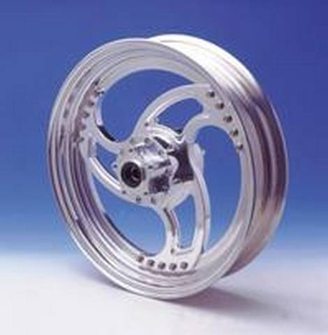 RST SWEPT DESIGN ALU. REAR WHEEL<br/>8.5&quot;x 18&quot; DUAL FLANGE&nbsp;&nbsp;