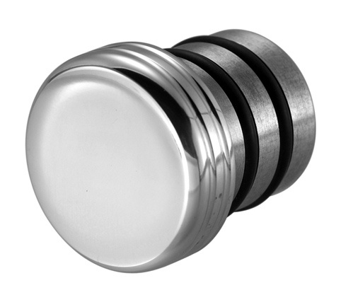 OIL TANK CAP PLAIN WITH DIPSTICK POLISHED<br/>OELTANKSTOPFEN MIT PEILSTAB POLIERT