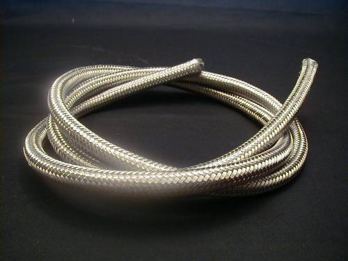 STAINLESS STEEL BRAIDED HOSE<br/>3/8´, STAINLESS, 6 FOOT LONG&nbsp;&nbsp;