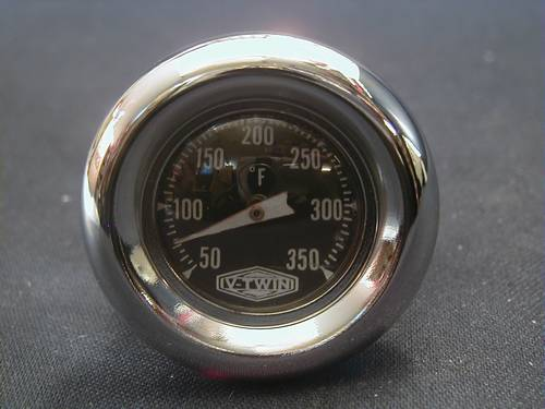 OIL TANK TEMPERATURE GAUGES,<br/>TWIN CAM SOFTAIL 2000-LATER, OEM62696-00
