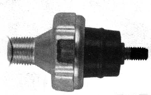OIL PRESSURE SWITCH, PLATED STEEL<br/>FITS FL & FX 1941-1984, OEM 26552-72&nbsp;W/ RUGGED THERMO PLASTIC INSOLATORS&nbsp;