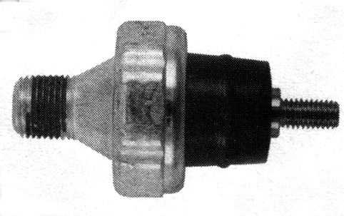 OIL PRESSURE SWITCH, PLATED STEEL<br/>FITS XL MODELS FROM 1977-2009, OEM 26554-77&nbsp;W/ RUGGED THERMO PLASTIC INSOLATORS&nbsp;