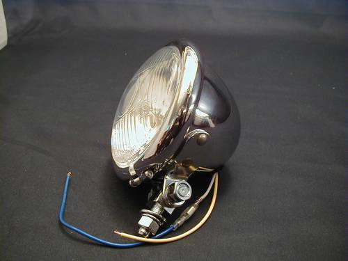 HEADLAMP COMPLETE 4-1/2<br/>WITH E-MARK, H3, 55W&nbsp;&nbsp;