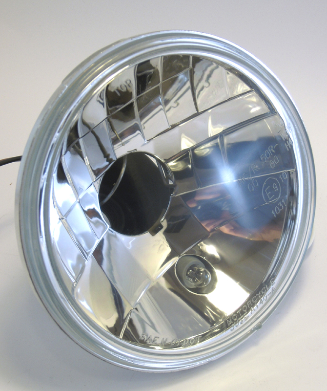"5-3/4"" LIGHTING INSERT WITH CLEAR LENS<br/>H4 WITH PRISMA REFLECTOR"