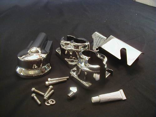 CHROME ENGINE DRESS-UP KIT<br/>INCL. TAPPET BLOCK COVER SET BIG TWIN 1992-99