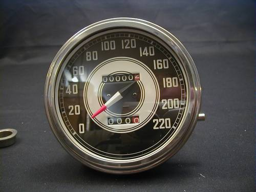 SPEEDOMETER 1941-45 FACE 2:1 KM<br/>&nbsp;&nbsp;