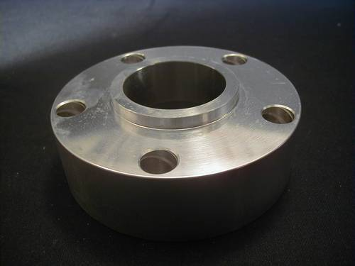 BELT PULLEY & SPROCKET SPACER<br/>ALUMINIUM OFFSET 30 mm TWIN CAM, 56,5 x 56,5 mm