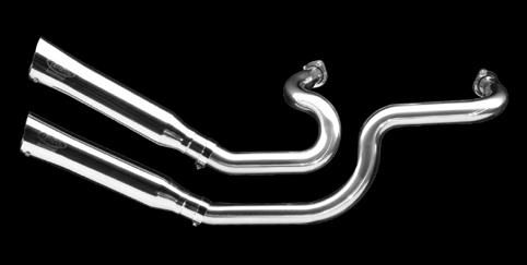 BSL EXHAUST SYSTEM, VA ORDINARY<br/>EXTRA, 2-1/4&quot; POLISH, BT EVO-TC&nbsp;WITH TÜV CERTIFICATE&nbsp;