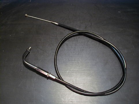 THROTTLE CABLE 8<br/>BIG THREAD 5/16, WITH TEFLON LINER