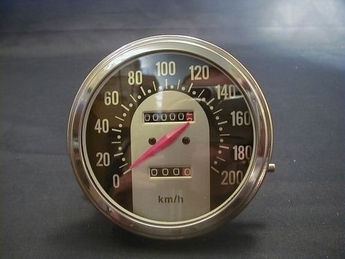 SPEEDOMETER ´62-67 FACE 1:1 KM<br/>&nbsp;&nbsp;