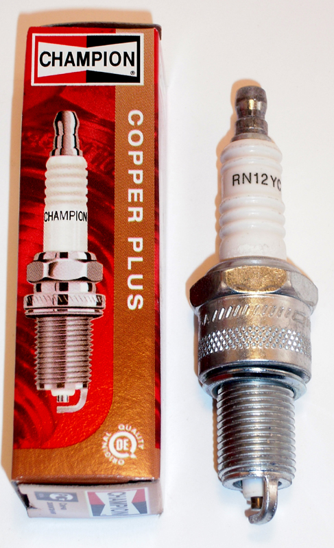 CHAMPION RN12YC SPARK PLUG OEM 32342-04 (5R6A)<br/>1975-UP SHOVEL, 1340 EVOLUTION&nbsp;&nbsp;
