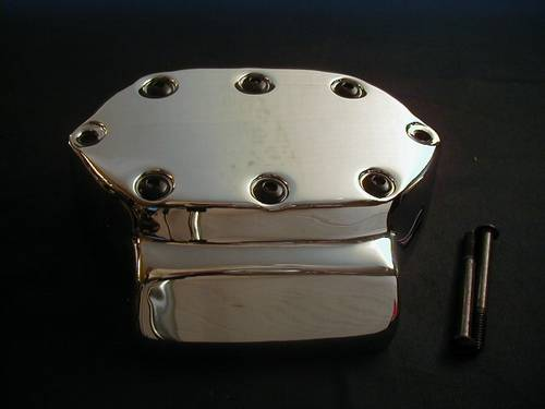 COVER WITH BLACK BUTTONHEADS<br/>FOR 5-SPEED BIG TWIN TRANSMISS&nbsp;&nbsp;
