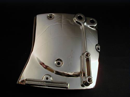 34911-81A SHIFTER COVER 883<br/>SPORTSTER, CHROMED 1980-90&nbsp;&nbsp;