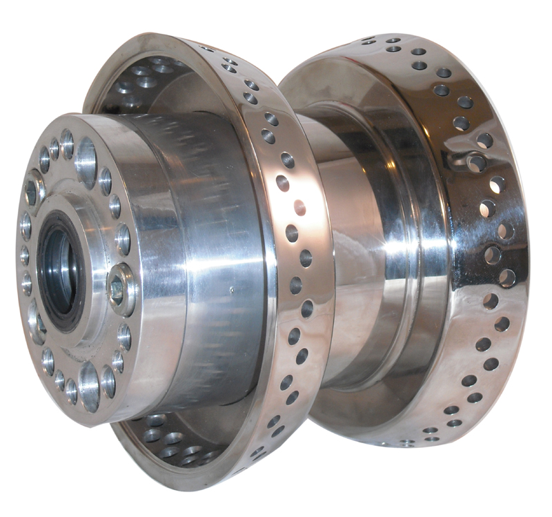 STRAIGHT PULL HUB SINGLE FLANG<br/>STAINL.120 HOLE, EVO + TC&nbsp;&nbsp;