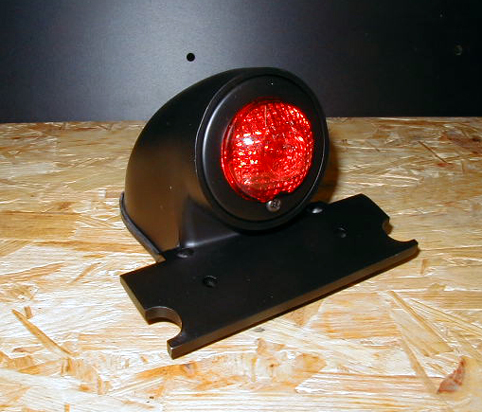 SPARTO TAILLIGHT BLACK COATED<br/>WITH E-MARK&nbsp;&nbsp;