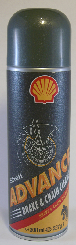 SHELL ADVANCE BRAKE AND CHAIN CLEANER<br/>BREMSEN UND KETTENREINIGER, 300ml&nbsp;&nbsp;