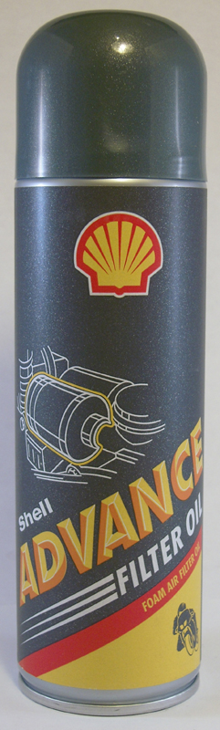 SHELL ADVANCE FILTER OIL, 0.4L<br/>FILTER OEL, SPRAYDOSE&nbsp;&nbsp;