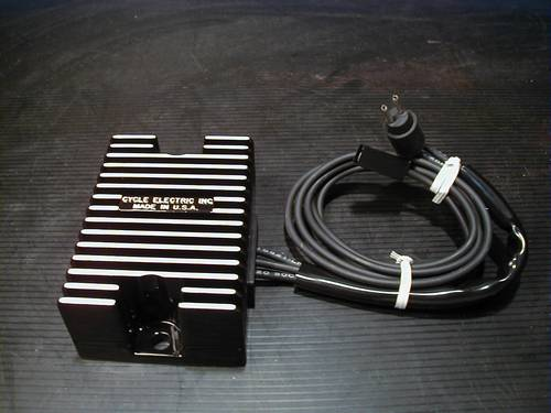 RECTIFIER REGULATOR, BLACK COATED<br/>ALL 1992-1993 SPORTSTER MODELS, OEM 74523-92A&nbsp;CE-207&nbsp;