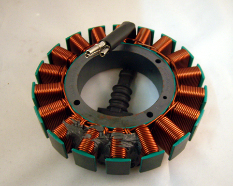 STATOR 2007  SOFTAIL /  DYNA<br/>50 AMPS CYCLE ELECTRIC&nbsp;&nbsp;