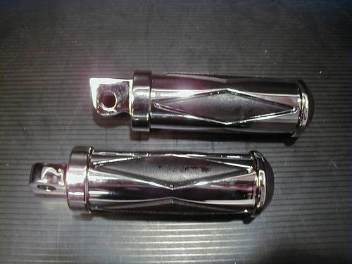 DIAMOND RUBBER FOOTPEGS,DRIVER<br/>SMALL, PAIR&nbsp;&nbsp;
