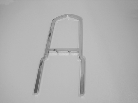 Sissy Bar, schmal<br/>440 mm high, 150 mm wide, chrome&nbsp;&nbsp;