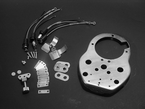 CAT EYE DASH MOUNTING KIT<br/>FÜR ORIGINAL FAT BOB&nbsp;&nbsp;