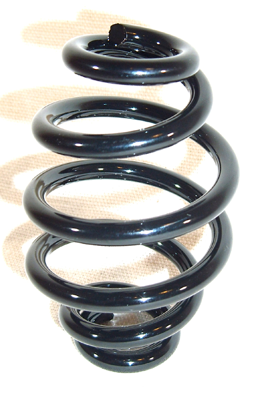 SEAT SPRING FOR RIGID FRAME 3&quot;<br/>SATTELFEDER 76MM EI-FORM, &quot;BLACK COATED&quot;&nbsp;&nbsp;