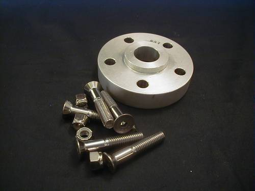 BDL 15/16´ SPACER KIT<br/>WITH BOLTS(62mm)AND HEX NUT NY&nbsp;&nbsp;