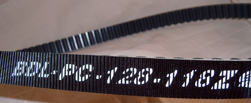 CARBON FIBER  REAR BELT FROM GATES #PCC-128-118<br/>14mm 128 TOOTH 1-1/8&quot; SPORTY&nbsp;&nbsp;