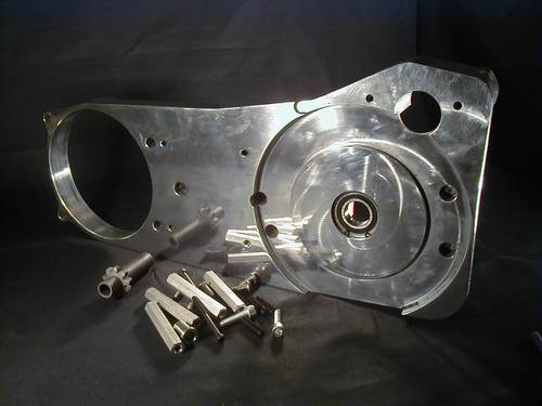 BILLET MOTOR PLATE KIT ONLY<br/>F. SHOVELHEAD&nbsp;ONLY 1970-78&nbsp;
