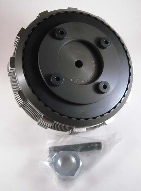 BDL COMPETITOR CLUTCH, FITS ALL STOCK<br/>HARLEY-DAVIDSON CLUTCH BASKETS 1998-2010&nbsp;1-STEEL.120&quot; THICK, 6-STEEL.059&quot; & 7-KEVLAR FIBE&nbsp;