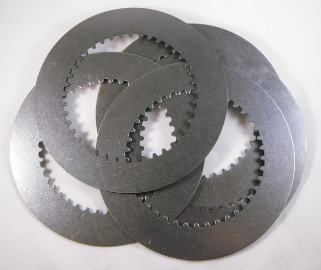 BDL CLUTCH PLATE, SET OF 6 STEEL PLATES, .059&quot;<br/>FITS COMPETITOR CLUTCH 830733, (CC-130BB)&nbsp;&nbsp;