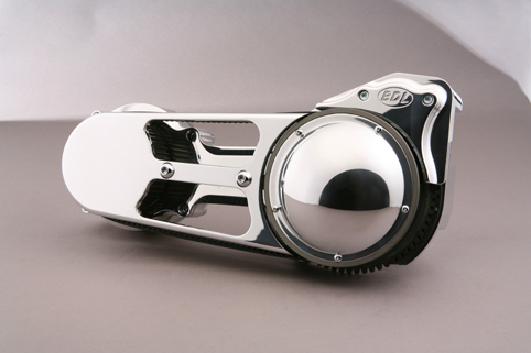 2&quot; BELT DRIVE, SOFTAIL 1990-2006, POLISHED<br/>INCLUDE BALL BEARING CLUTCH SYSTEM #EV-575&nbsp;&nbsp;
