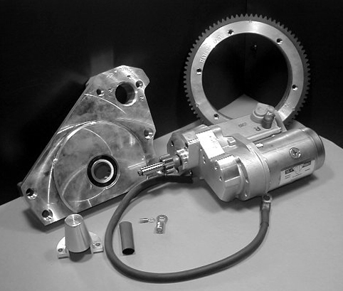 ELECTRIC START KIT 4 SPEED OPEN PRIMARY<br/>COW PIE COVER, FITS ROTARY TOP, 1979-84&nbsp;&nbsp;