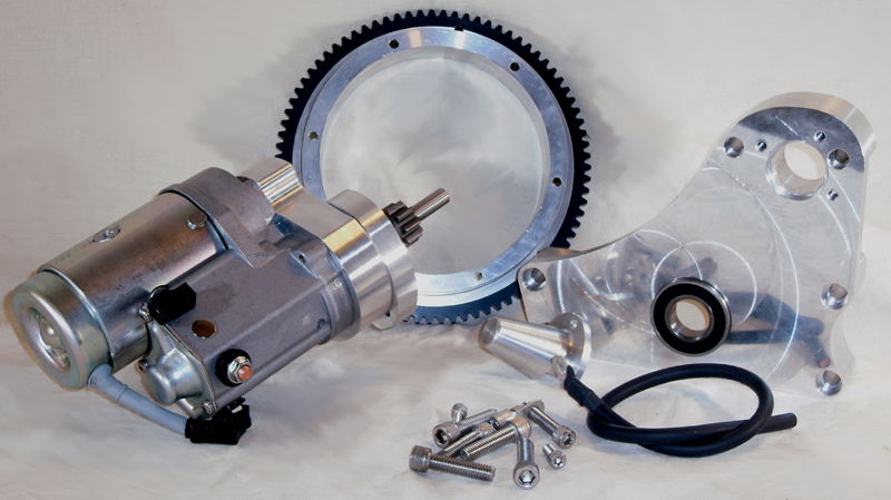 ELECTRIC START KIT, FITS BAKER 6 IN 4 SPEED TRANSM<br/>BELT, FITS ROTARY TOP, 1979-84, WITH 6005M BEARING&nbsp;&nbsp;
