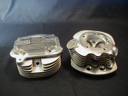 S.T.D PAN SHOVEL CYLINDER HEADS<br/>STOCK BORE, SINGLE  PLUG&nbsp;&nbsp;