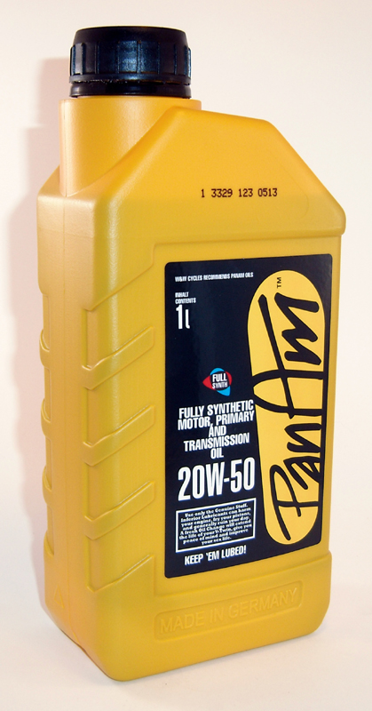 PAN AM MOTORCYCLE OIL SAE 20W50, 1 LITER<br/>HAEVY DUTY ENGINE OIL, FITS PAN/SHOVEL, EVO TC M8&nbsp;&nbsp;